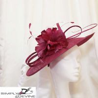 Magenta mother of the bride hatinator 13103 /SD69
